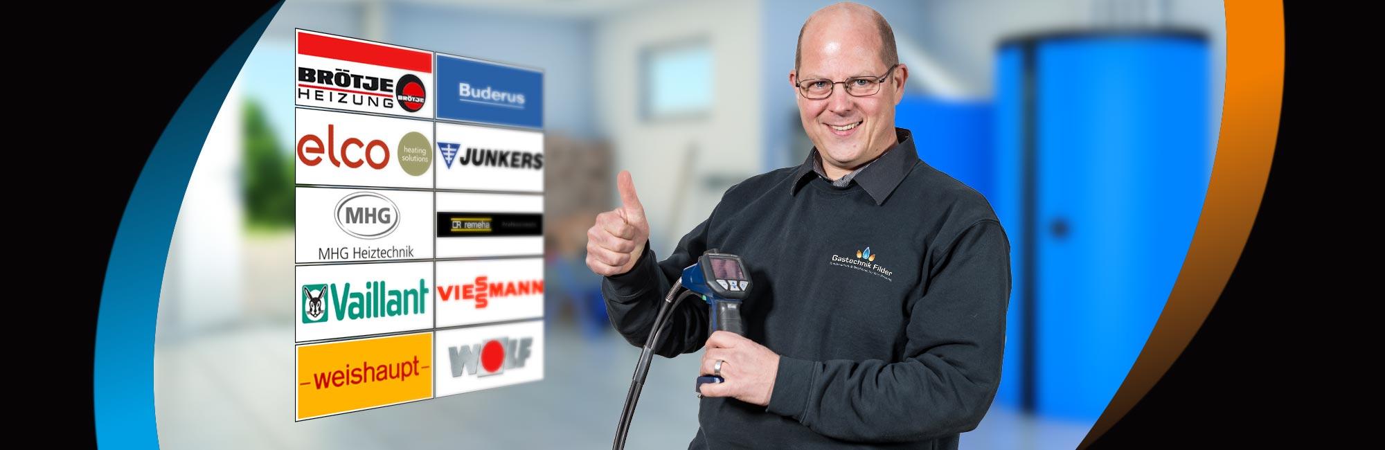 Alle Heizungsmarken - Gastechnik Filder Fritzsch